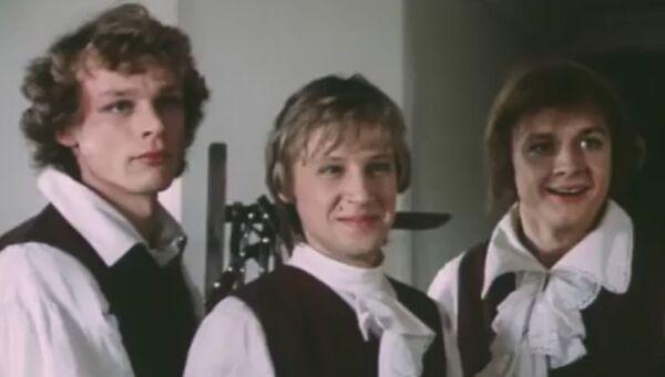 Кадр из фильма Гардемарины, вперед! 1987 год