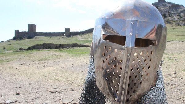 Генуэзский шлем в Судаке