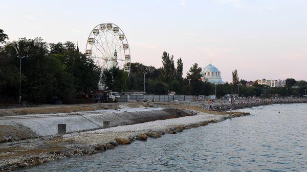 Реконструкция набережной имени В. Терешковой в Евпатории