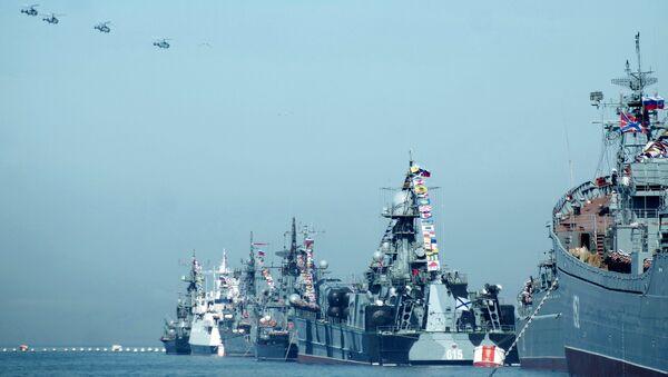 Корабли Черноморского флота в Севастополе. Архивное фото