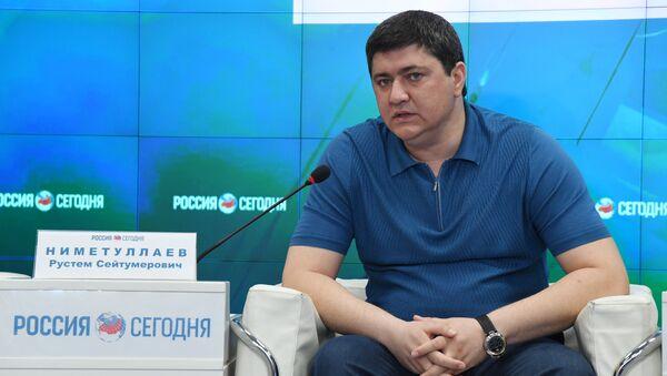Заместитель председателя РОО Къырым бирлиги и Общественного совета крымско-татарского народа Рустем Ниметуллаев