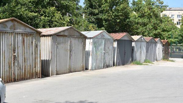 Незаконные гаражи в Симферополе