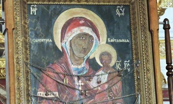 Чудотворная икона Пресвятой Богородицы Одигитрия Байтальская