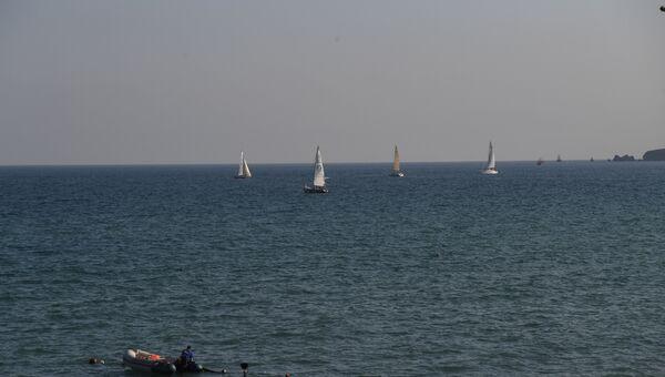 Парусная регата Кубок Черного моря в рамках фестиваля Koktebel Jazz Party