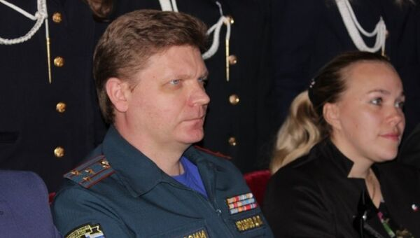 Врио начальника Главного управления МЧС России по городу Севастополь Дмитрий Козлов