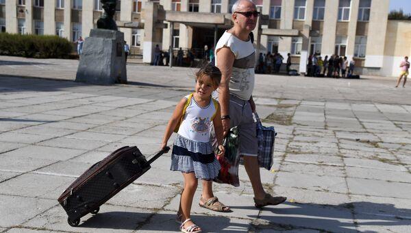 Вывоз детей из Армянска в санатории Крыма