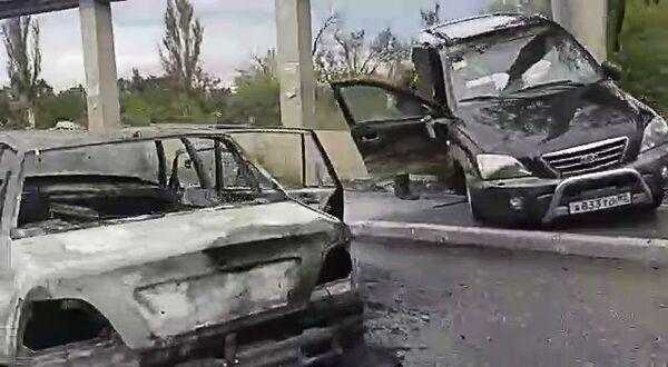 ДТП на въезде в Симферополь. 6 сентября 2018