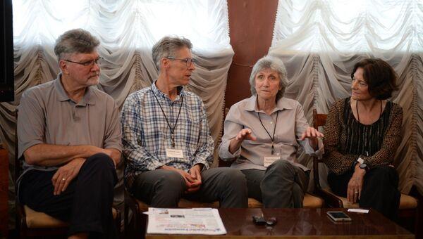 Делегация общественников из США в Севастополе