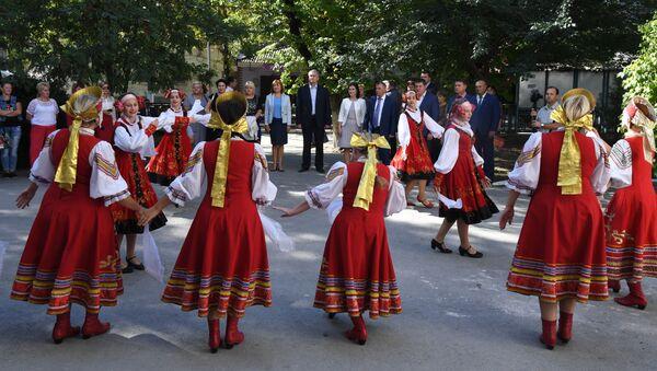 Торжественное открытие Дома культуры в Белогорске