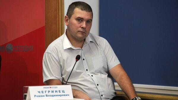 Председатель Региональной национально-культурной автономии белорусов РК Белорусы Крыма Роман Чегринец