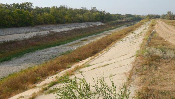 Северо-Крымский канал в Крыму