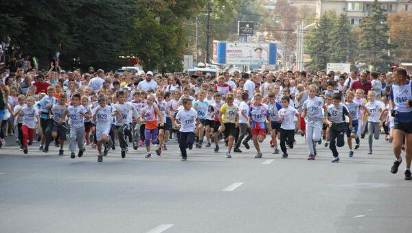 Всероссийский день бега Кросс нации-2018 в Симферополе