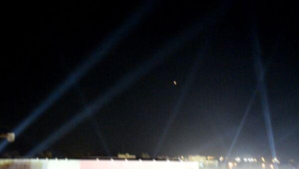 Огненная точка в небе над Дамаском: сирийская ПВО отразила атаку ВВС Израиля