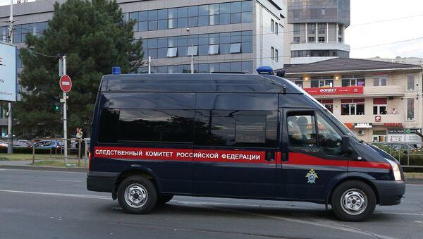 Автомобиль Следкома России. Архивное фото