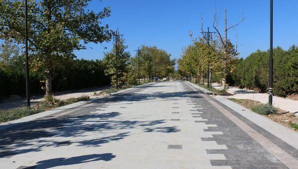 Реконструкция парка Победы в Севастополе