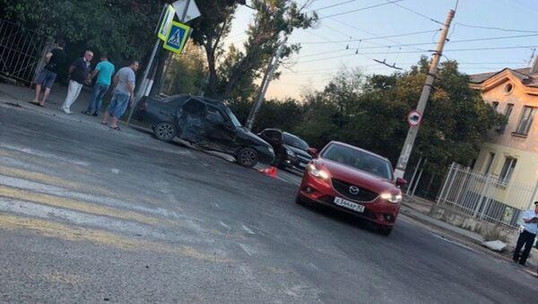 ДТП на проспекте Вернадского в Симферополе 22.09.2018 г.