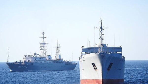 Корабли ВМСУ у берегов Крыма. Архивное фото
