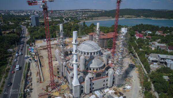 Строительство Соборной мечети в Симферополе