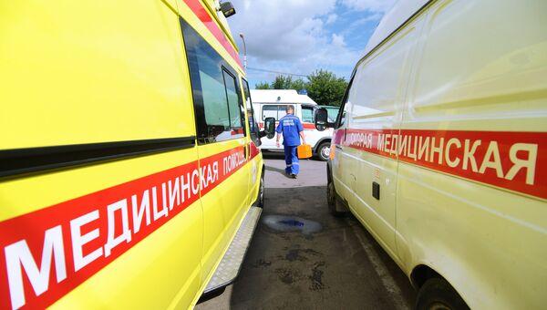 Станция скорой помощи в Тамбове