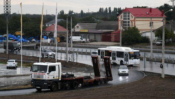 Транспортная развязка на пересечении трассы Симферополь – Евпатория и автодороги Симферополь – Мирное – Дубки