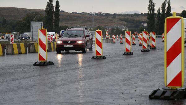 Транспортная развязка на Евпаторийском шоссе