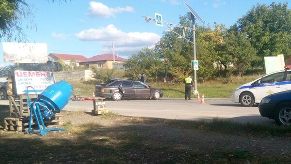 ДТП на выезде из Симферополя 26.09.2018 г.