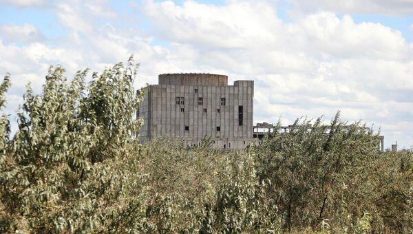 Энергоблок заброшенной Крымской атомной электростанции в Щелкино