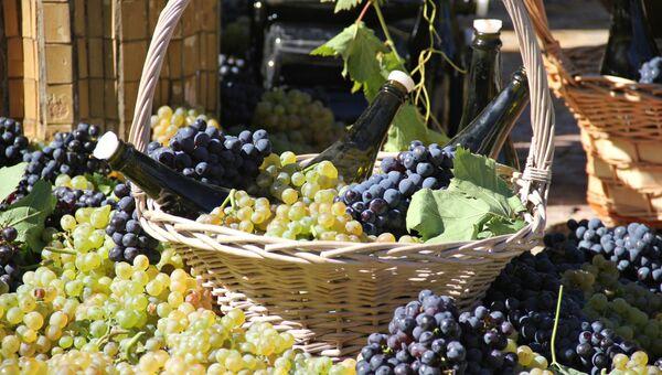 Продукция завода шампанских вин Новый свет