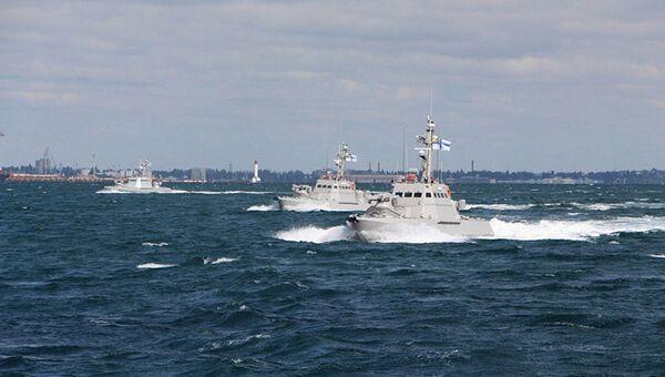 Артиллерийские катера ВМС Украины