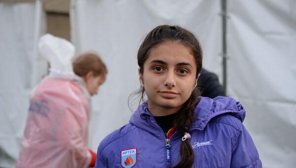 Кристина из Южной Осетии, отдыхающая в МДЦ Артек