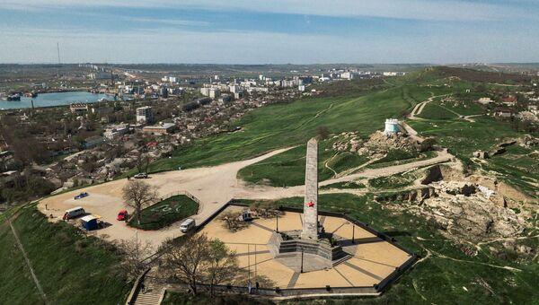 Гора Митридат в Керчи