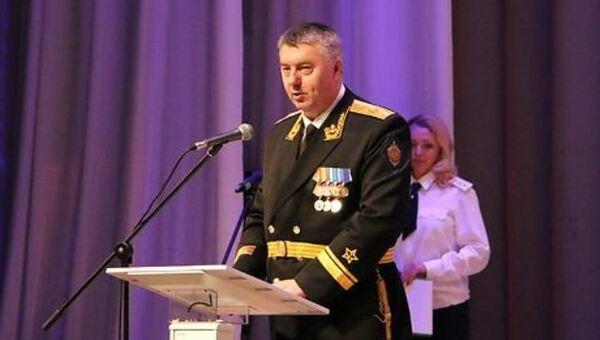 Контр-адмирал Сергей Станкевич, который возглавил Пограничное управление ФСБ России по Республике Крым