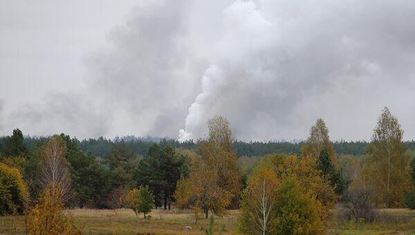 Взрыв произошел на военном складе под Черниговом