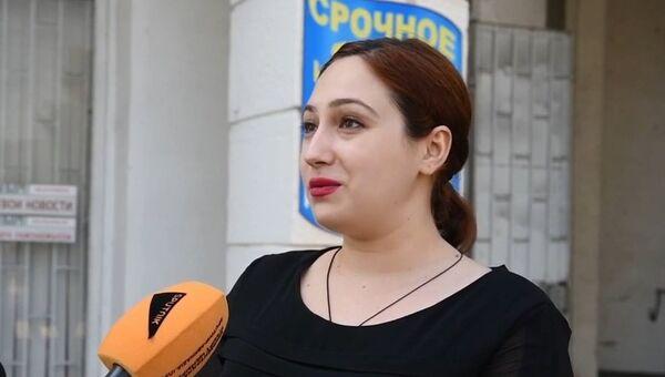 Видео опроса жителей города Сухум о морском сообщении между Крымом и Абхазией