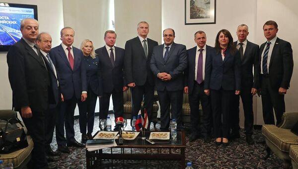 Крымская делегация в Сирии