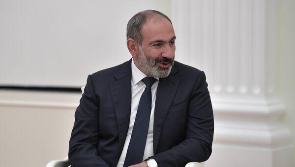Президент РФ В. Путин встретился с премьер-министром Армении Н. Пашиняном