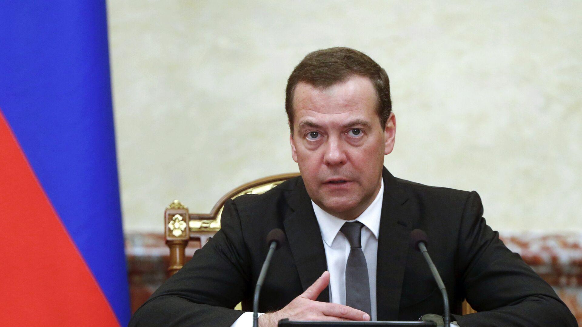 Премьер-министр РФ Дмитрий Медведев - РИА Новости, 1920, 12.10.2021