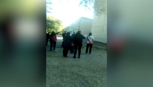 Нападения на керченский колледж. Первые кадры с места ЧП