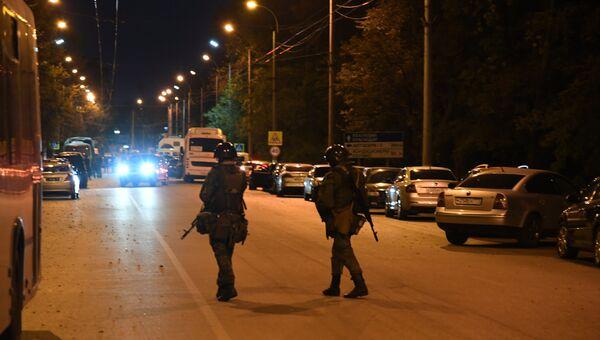 Видео с места трагедии в Керчи. 17 октября 2018