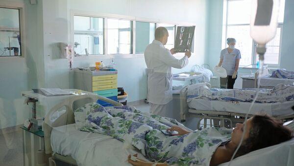 В больничной палате. Архивное фото