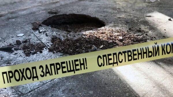 На месте происшествия в керченском колледже
