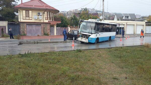 ДТП в Симферополе на улицу Гурзуфская