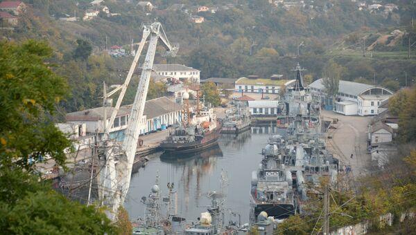 Вид на севастопольскую бухту