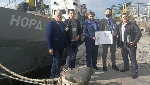 Украинская прокуратура передала российское судно Норд Национальному агентству Украины. Архивное фото