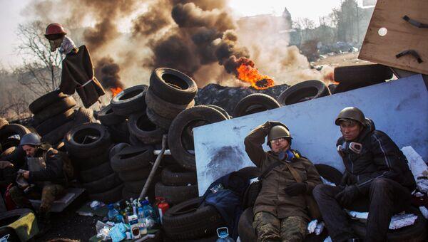 Развитие ситуации на майдане в Киеве