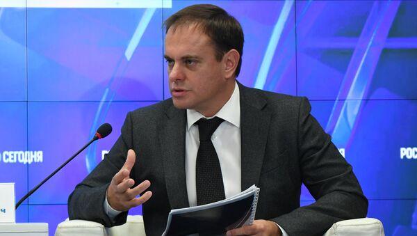 Пресс-конференция министра курортов и туризма РК Вадима Волченко