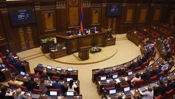 Заседание в парламенте Армении. Архивное фото