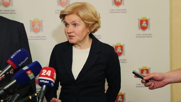 Зампредседателя правительства РФ Ольга Голодец в Симферополе
