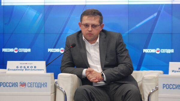 Председатель комитета Государственного совета Республики Крым по образованию, науке, молодежной политике и спорту Владимир Бобков