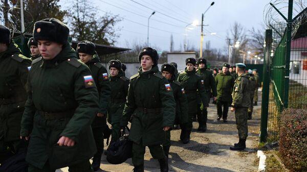 Осенний призыв на военную службу в Крыму